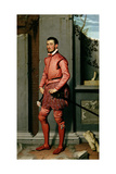 Portrait of Gian Gerolamo Grumelli, Italian Statesman and Noble, 1560 Giclee Print by Giovanni Battista Moroni
