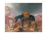 Return from the Hunt Giclee Print by John Frederick Herring Snr
