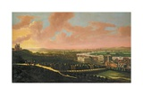 London from Greenwich Hill, C.1680 Giclee Print by Johannes Vorsterman