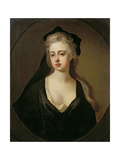 Portrait of Jane Hyde, Countess of Clarendon and Rochester (1669/70-1725) C.1691-92 Giclee Print by Michael Dahl