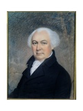 Portrait of Gouverneur Morris (1752-1816) Giclee Print by James Sharples