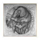 The Story of Orpheus: Cerberus, 1875 Giclee Print by Sir Edward Coley Burne-Jones