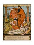 'Sleeping Beauty' Giclee Print by Walter Crane