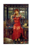 Oh, Swallow, Swallow, 1894 Giclee Print by John Melhuish Strudwick