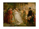 Claudio, Deceived by Don John, Accuses Hero, 1861 Giclee Print by Marcus Stone