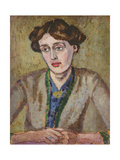 Virginia Woolf (1882-1941) Giclee Print by Roger Eliot Fry