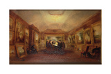 Turner's Body Lying in State, 19th Century Giclee Print by George Jones