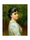 In the Woods Giclee Print by Charles Sillem Lidderdale
