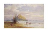 A September Evening, St Michael's Mount, Cornwall Giclee Print by John Mogford