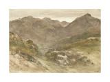 Dolgellau, 1811 Giclee Print by John Varley