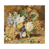 Winter Flowers, C.1850 Giclee Print by William Henry Hunt