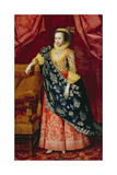 Portrait of a Lady, Here Called Arabella Stuart Giclee Print by Marcus Gheeraerts