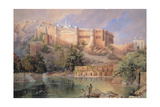 The Fort at Amber, Rajasthan, 1863 Giclee Print by William 'Crimea' Simpson