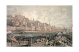 The Launch of the Steamship 'The Great Britain' in the Presence of H.R.H. Prince Albert Giclee Print by  English School