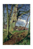 In Early Spring: a Study in March Giclée-tryk af John William Inchbold