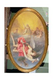 Astraea Returns to Earth, Panel from the Whitehall Ceiling, C.1660 Giclee Print by John Michael Wright