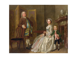 The Bedford Family, also known as the Walpole Family Giclee Print by Francis Hayman