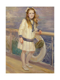 Girl in a Sailor Suit Giclee Print by Charles Sims