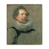 Portrait of a Man Wearing a Millstone Collar, 17th Century Giclee Print by Sir Anthony van Dyck