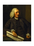 Portrait of George Dance the Elder Giclee Print by Nathaniel Dance-Holland