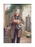 The Village Postman Giclee Print by William Edward Millner