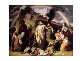 Noah's Sacrifice, 1847-53 Giclee Print by Daniel Maclise