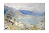 Lake Scene Giclee Print by Albert Goodwin