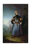 Portrait of Murtaza-Kuli-Khan (D.1800) Brother of Aga-Mahommed, the Persian Shah, 1796 Giclee Print by Vladimir Lukich Borovikovsky