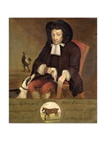 Tregonwell Frampton (1641-1727) Father of the Turf, 1728 Giclee Print by John Wootton