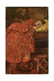 The Red Kimono Giclee Print by Georg-Hendrik Breitner