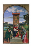 Madonna and Child with St. John the Baptist and Mary Magdalene Giclee Print by Giovanni Battista Cima Da Conegliano