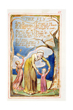The Fly: Plate 40 from Songs of Innocence and of Experience C.1815-26 Giclée-Druck von William Blake