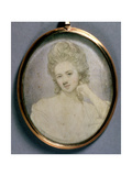 Portrait Miniature of Georgiana, Duchess of Devonshire, C.1775 Giclee Print by Jeremiah Meyer