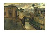 Street Scene in Granada Giclee Print by Antonio Munoz Degrain