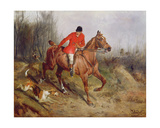 Hunting Scene Giclee Print by John Alfred Wheeler