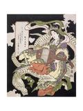 Enoshima Benzaiten, 1833 Giclee Print by Aoigaoka Keisei