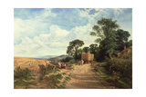 Landscape - Harvest Time, 1865 Giclee Print by George Vicat Cole