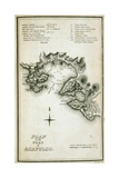 T.1598 Plan of the Port of Acapulco, Engraved by W. Lowry, from 'Plates to Alexander De… Giclee Print by Friedrich Alexander, Baron Von Humboldt