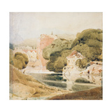 The Water Gate, York Giclee Print by John Sell Cotman