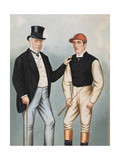 Lord Falmouth and Fred Archer (1857-1886) Giclee Print