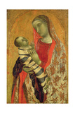 Madonna and Child Giclee Print by Ambrogio Lorenzetti