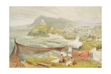 Ilfracombe, Devon, Looking Towards Hillsborough Giclee Print by Albert Goodwin