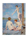 The Bathers, 1889 Giclee Print by Henry Scott Tuke