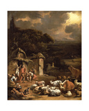 The Annunciation to the Shepherds Giclee Print by Adam Colonia