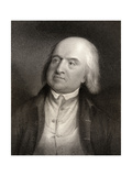 Jeremy Bentham, Engraved by S. Freeman (1773-1857) from 'National Portrait Gallery, Volume Iv',… Giclee Print by William Henry Worthington