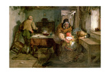 Forgiven, 1874 Giclee Print by Thomas Faed