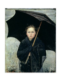 The Umbrella, 1883 Giclee Print by Maria Konstantinova Bashkirtseva