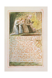 The Garden of Love: Plate 44 from Songs of Innocence and of Experience C.1815-26 Giclée-Druck von William Blake