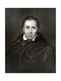 Allan Cunningham, Engraved by J. Jenkins from 'National Portrait Gallery, Volume Iv', Published… Giclee Print by Joseph Moore