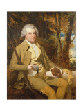 Portrait of Squire Morland with His Gun and Dog Giclee Print by James Miller